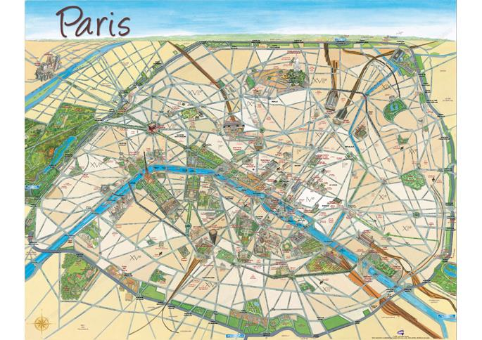 Plan metro paris site touristique subway application for Paris carte touristique